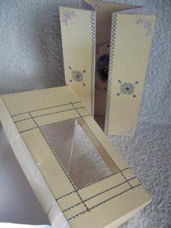 Acetate Aperture in boxes