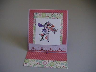 Fairy Easel Card