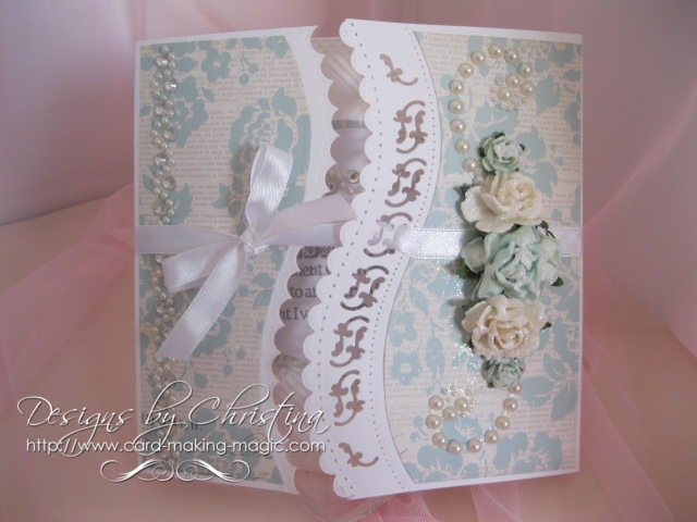 Spellbinders A2 Curved Borders One
