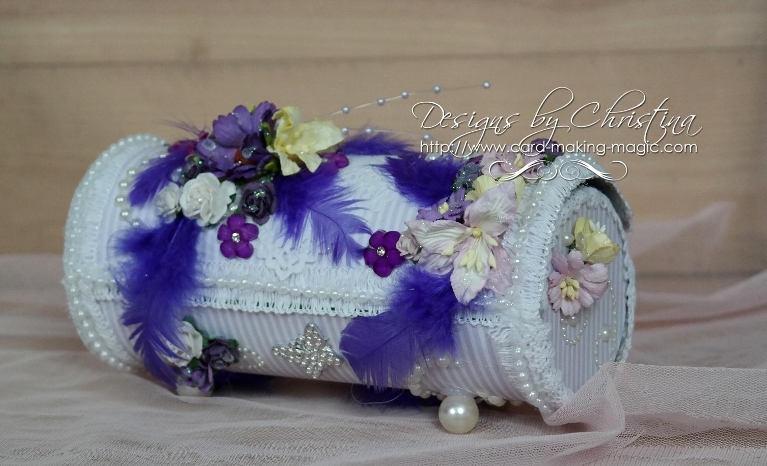 Treasure box in purple