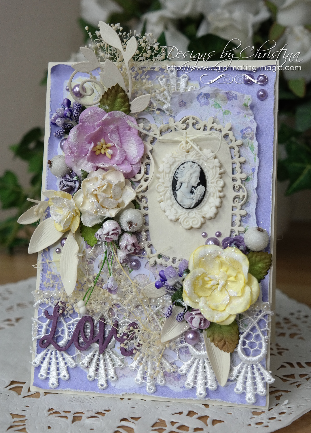 Shabby Chic Lilac and Lemon