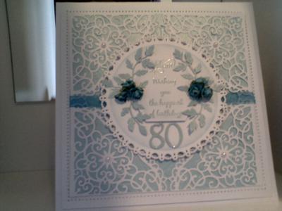 Handmade 80th Birthday Cards For Mum Nemetasfgegabeltfo
