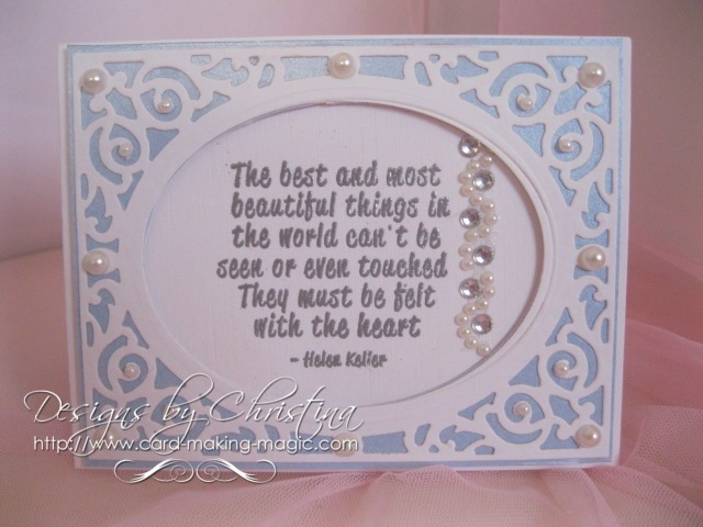 Spellbinders Filigree delight