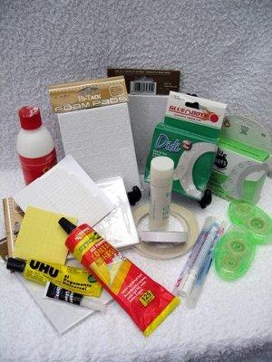card making adhesives