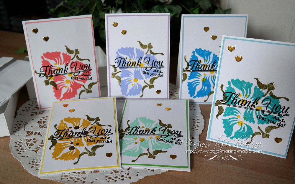 Batch Cardmaking