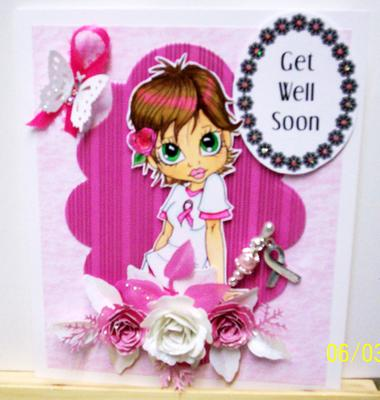 Boobie Love Get Well Card