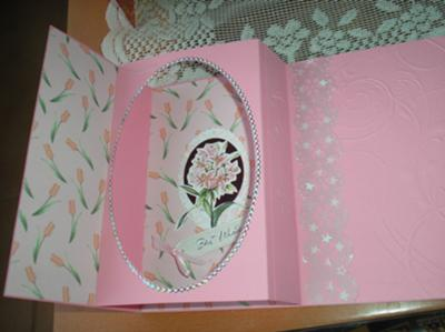 A pretty birthday card