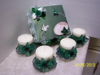 Another View of Candle Gift Set
