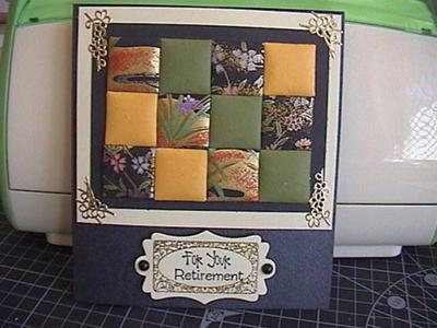 Quilting card