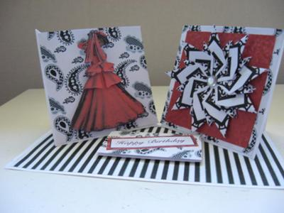 Double Easel Card