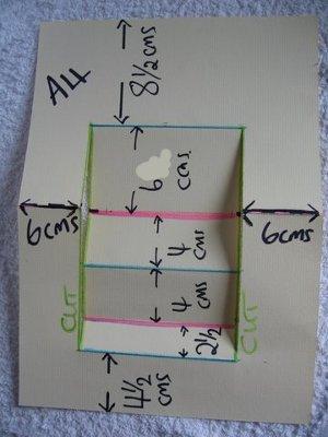 Centre Step Card