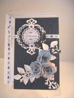Faux Book Card