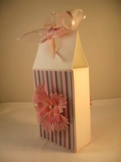 Top folded box