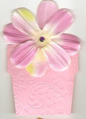 Birthday Flower Pot
