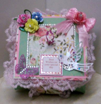 Frilly Origami Box Top