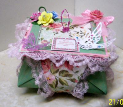Frilly Origami Box