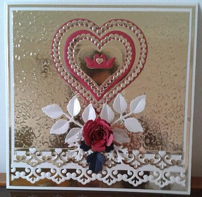 card front - Wedding Anniversary Cards