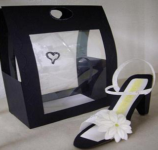 Congratulations with a shoe!