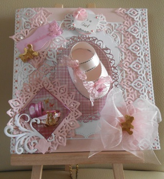 My latest baby card