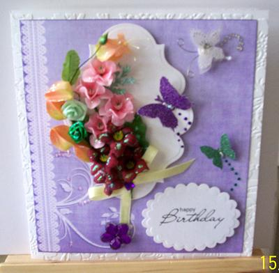 My First Mini Corsage Card