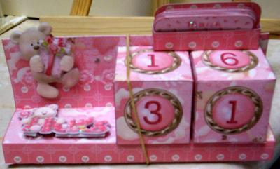 Paper Creator Cards - Birthday Calendar