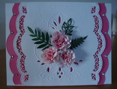 Pink Marianne Designables Card