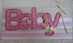 Baby word card