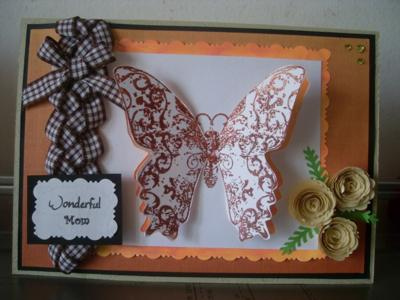 Braided Ribbon card
