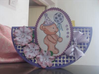 Purple Rocking Card