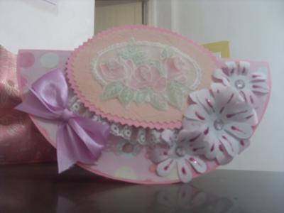 Pink Rocking Card
