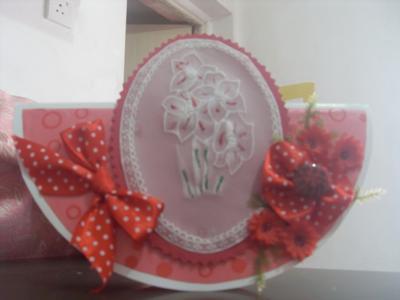Red Rocking Card