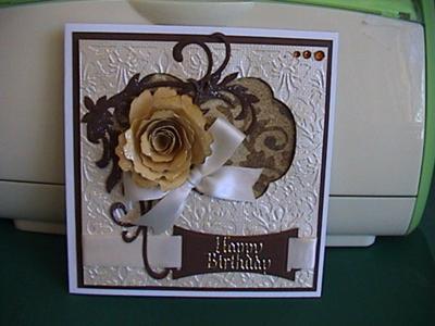 Birthday Card for Carla