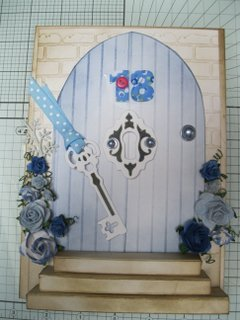 Blue Door Card