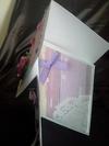 Diamond top card - Inside