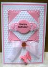 Plain But Pretty Hinged Birthday Card