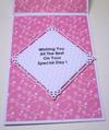 In Side of Plain But Pretty Hinged Birthday Card