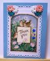 Pretty Birds Thank You Card