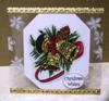 Sizzix Acetate Christmas Card