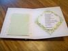 wedding card inside