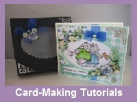 Cards with matching boxes