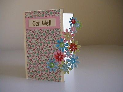 Flower Get Well Card