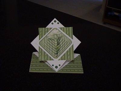 Diamond Pyramage Card