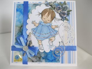 Baby walker card