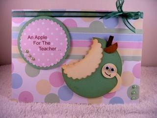 Novelty green apple