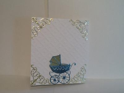 Back of Baby Shower card