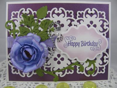 Birthday Card for a dear friend's mother