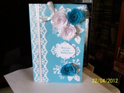 Julie's Wedding Card