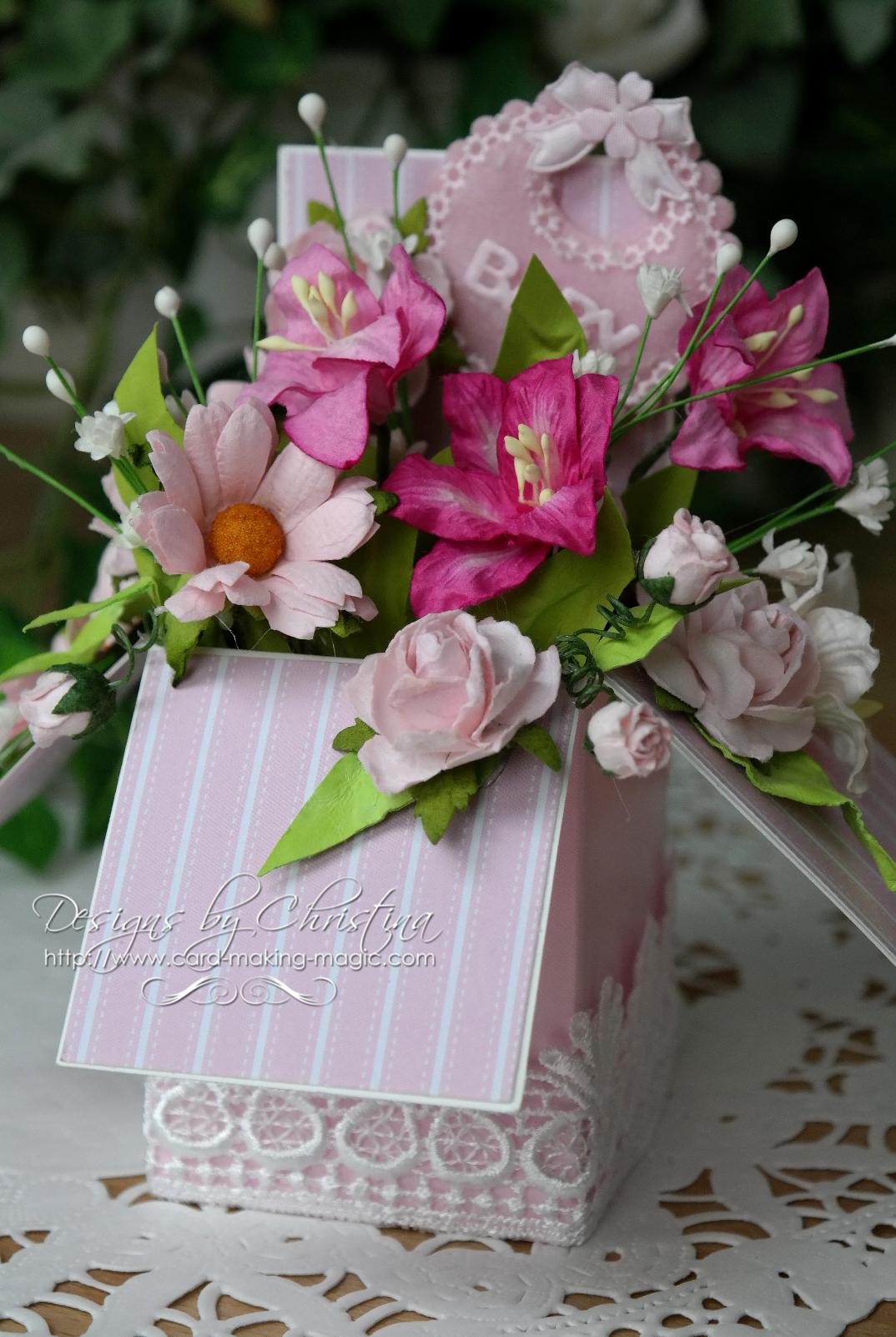 Floral Pop Up Box