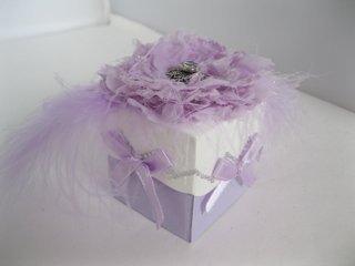 SB Bracket Edged Box in lilac