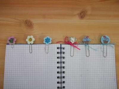 A selection of the bookmarks